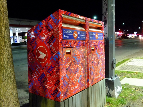 Canada Post Mailboxes
