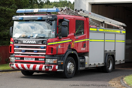 SG02UKF Muirkirk  Scottish Fire Service