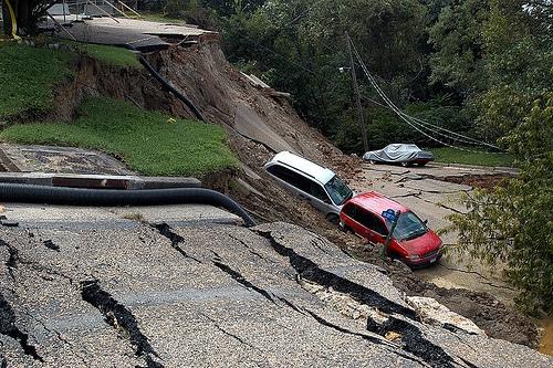 http://commons.wikimedia.org/wiki/File:Hurricane_Gaston_landslide_damage.jpg