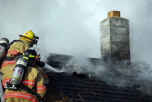 house fire spray