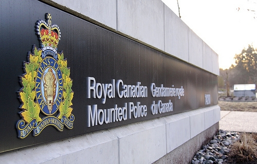 RCMP sign
