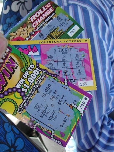 My Scratch-off winnings
