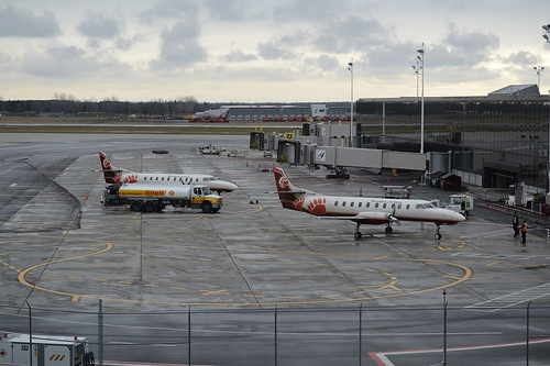 Bearskin Airlines at Ottawa airport