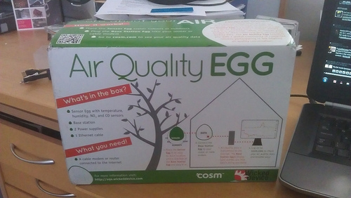 Air Quality Egg (boxed)