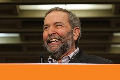 NDP Leader Thomas Mulcair