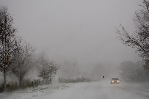 Snowy Driving
