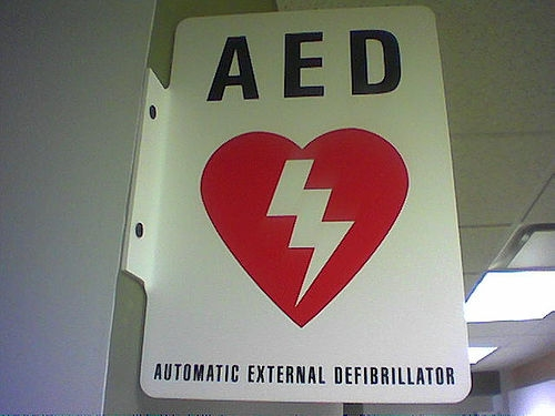drewzhrodague - 0507 - AED automatic external defibrillator from hell