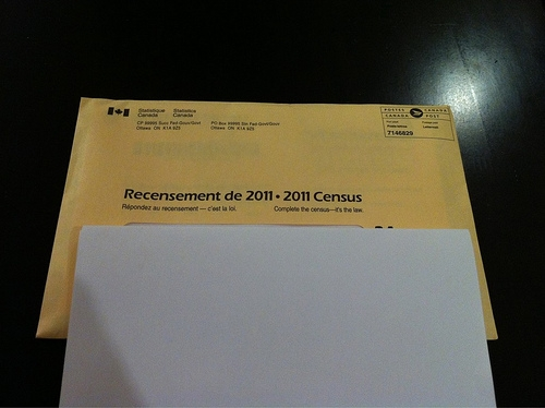 Didn't they abolish the mandatory census? Then what's this?