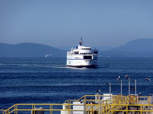 Queen of New Westminster arrives at Tsawwassen ferry terminal