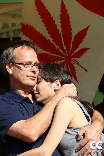 Marc Emery Returns Home To Victory Celebration in Vancouver