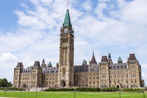 Centre Block of Parliament, Ottawa, Ontario
