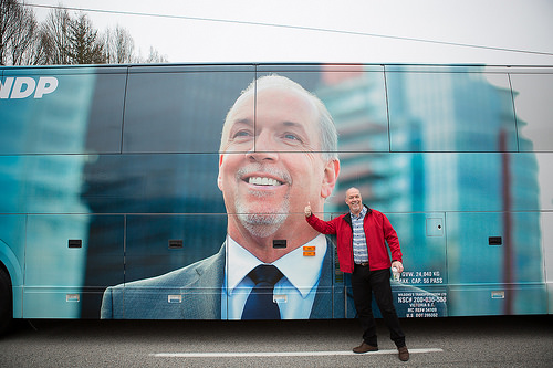 John Horgan and the BC NDP kick off campaign for a better BC