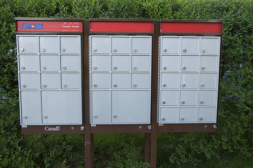 Canada Post - Closed Mail Box