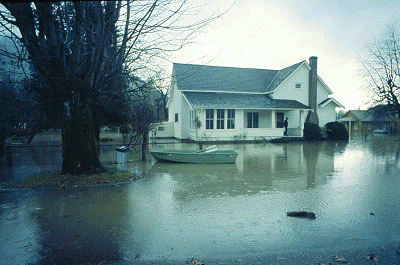 Skagit flood, 1975