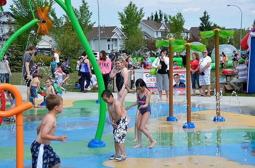 Spray Park opening