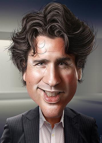Justin Trudeau - Caricature