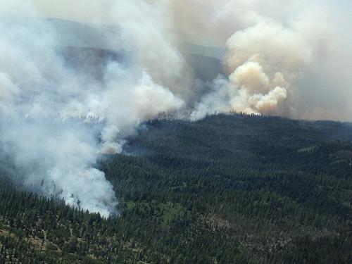 Bear Butte 2 Fire