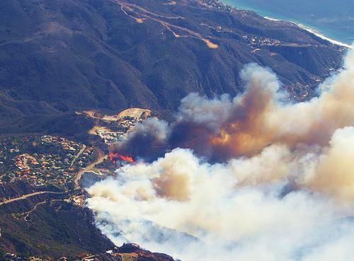 Malibu Fire  10/07