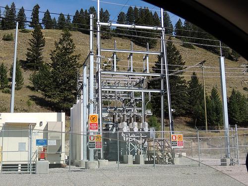 BC Hydro Radium Substation