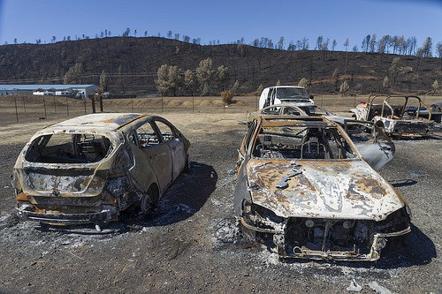 Nuked: Middletown, California, After the Wildfires