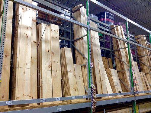 Lumber, Lowe's