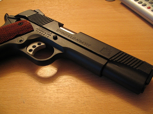 Springfield 1911A1 Loaded