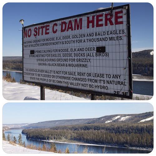 No Site C Dam Here