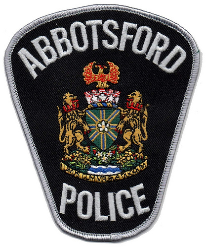 Canada - BC - Abbotsford Police (grey lettering)