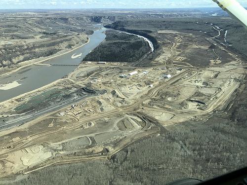 Site C dam site Fort St John 2017