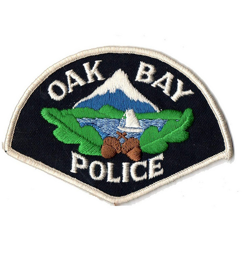 Canada - BC - District of Oak Bay Police (old style pie-shape)
