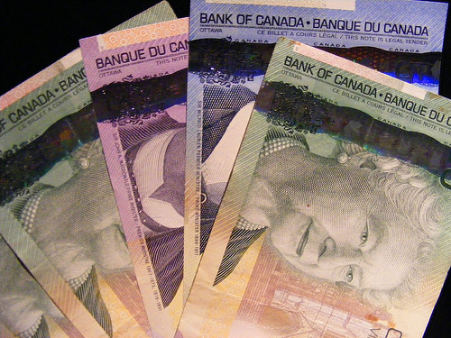 canadian money is pretty
