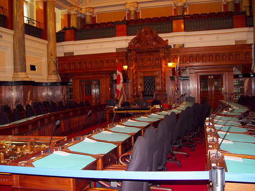 Inside the BC Legislature