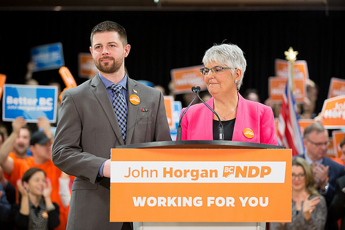 John Horgan's Campaign Kickoff