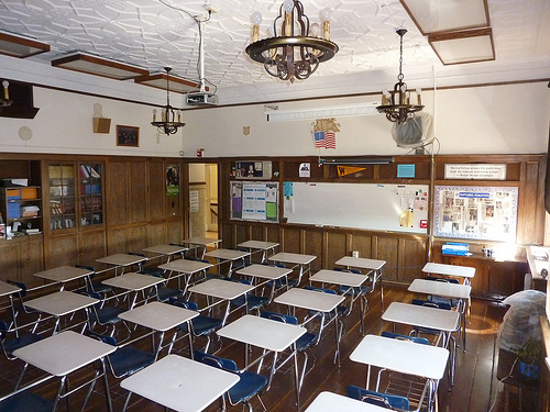 Ishpeming High School Classroom