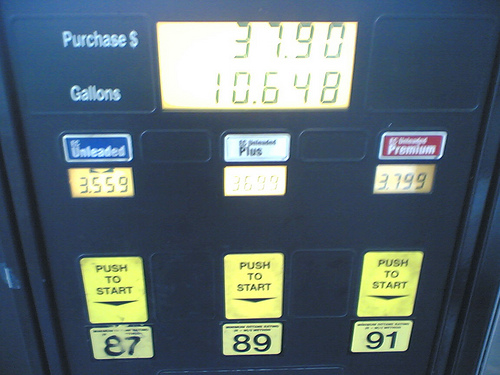 10.648 gallons for $37.90